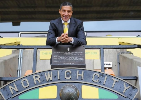 Time was up for Chris Hughton at Carrow Road