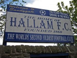 Hallam FC's Sandygate Home