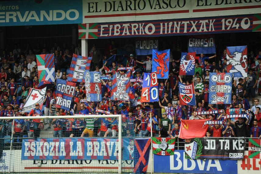 Eibar fans