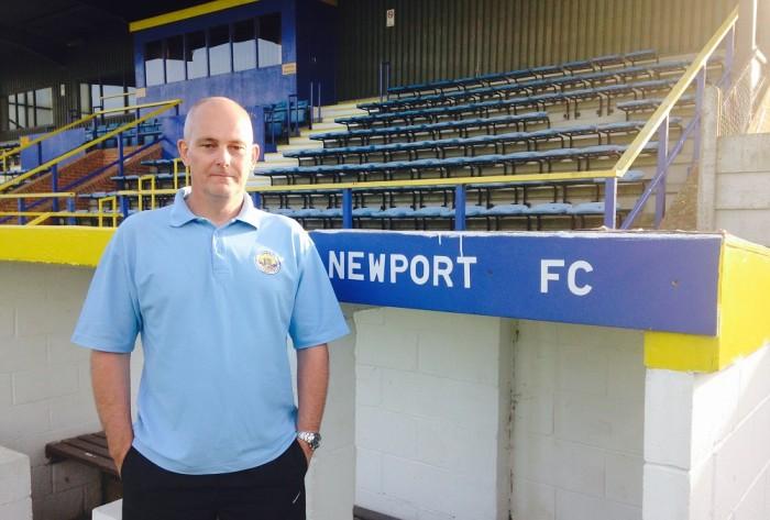 Newport (IOW) FC Andy Sampson
