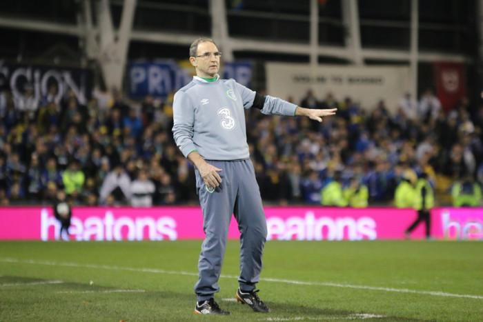 Ireland Bosnia Martin O'Neill touchline