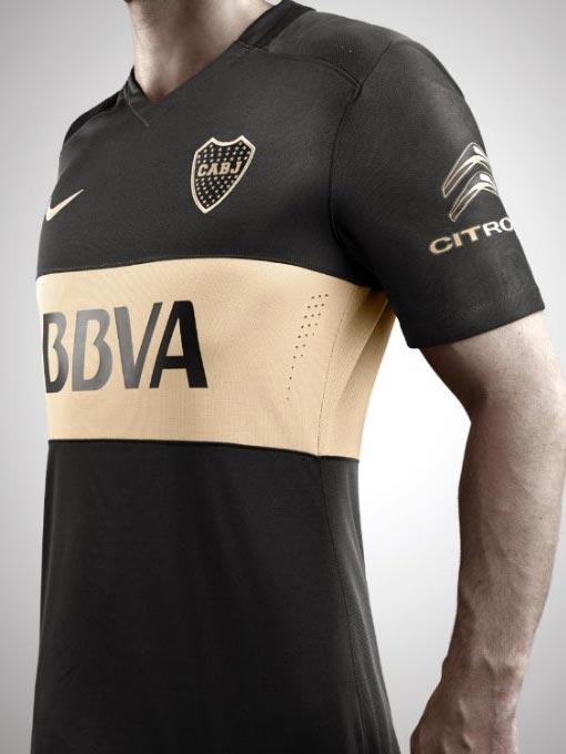new concept 33677 fc307 Pics: The slick new Boca Juniors third shirt by Nike – Back ...