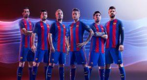 Pic: The 2016/17 Barcelona home kit