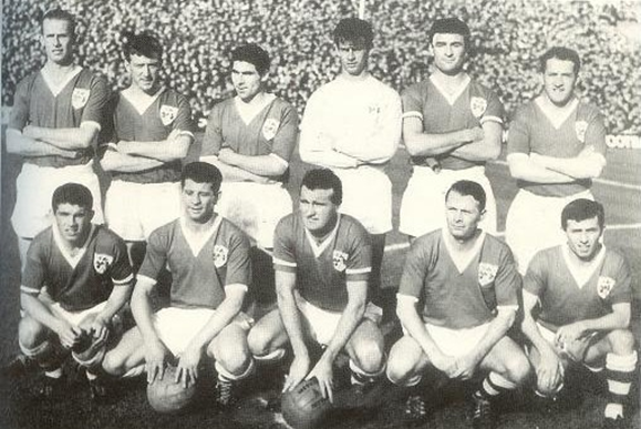 Ireland v Austria 1964