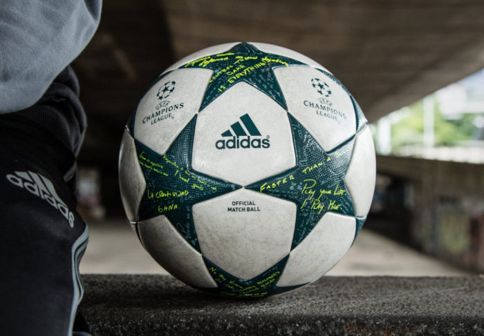 Champions League ball 2016 Adidas