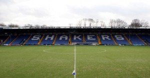 General view of Gigg Lane