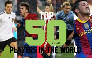 Top 50 Players in the World (10-6)