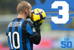 Top 50 Players in the World #3 - Wesley Sneijder