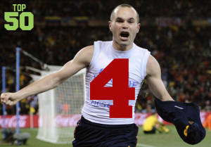 Top 50 Players in the World #4 - Andrés Iniesta