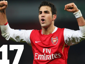Top 50 Players in the World – Cesc Fabregas