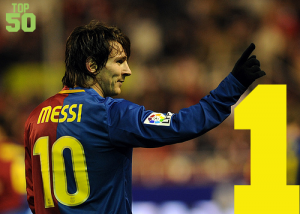 Top 50 Players in the World #1 – Lionel Messi
