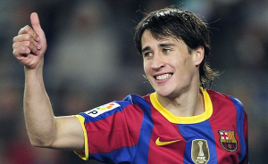 Bojan Krkic joins Stoke City on a four-year deal