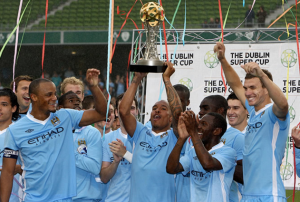 Manchester City Dublin Super Cup