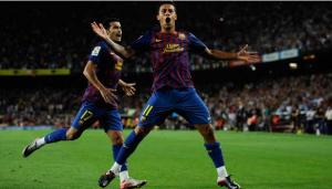 Ruthless Barcelona hit Villarreal for five