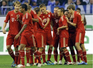 Bayern ease to fifth straight win as rivals struggle