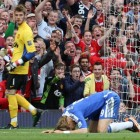 Fernando Torres missed a sitter that could have changed the momentum at Old Trafford.