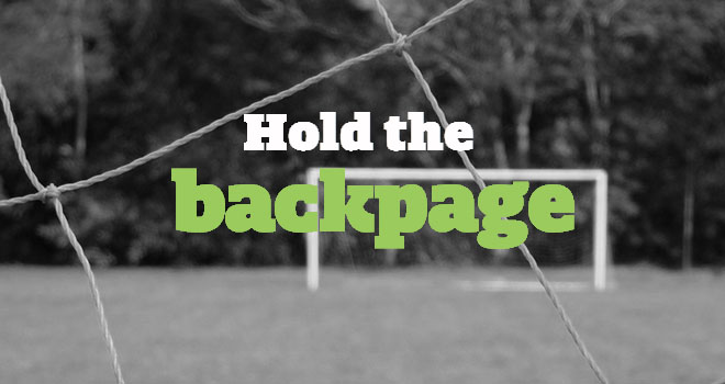 Hold the Back Page - MLS midseason special