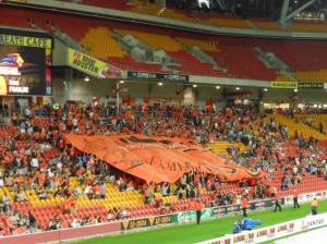 Brisbane Roar Crowd