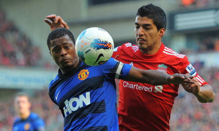 Bookies set for Evra and Suarez clash!