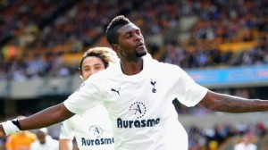 Adebayor wants £1m Spurs payoff after being banished to reserves