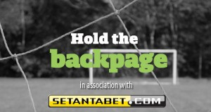 Hold the BackPage - Preseason training