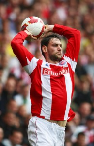 Rory Delap Throw