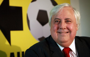 The rise and fall of Clive Palmer…A-League maverick