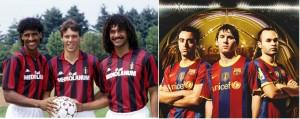 Pep's Barcelona vs Sacchi's Milan - Clash of the titans