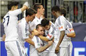Whitecaps FC - on the rise in MLS