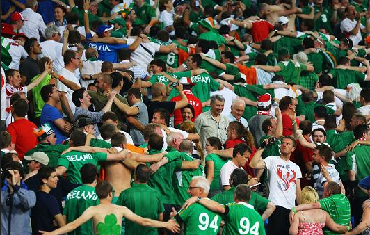 Irish fans - don't be hypocrites this summer
