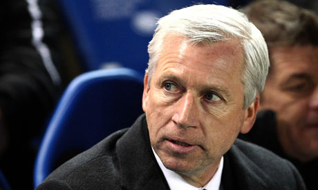 Alan Pardew - Part of the never-ending punchline