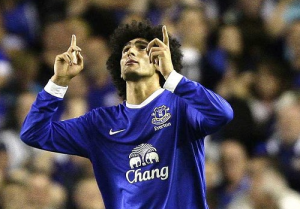 Fellaini Everton