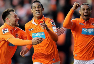 Tom Ince Blackpool