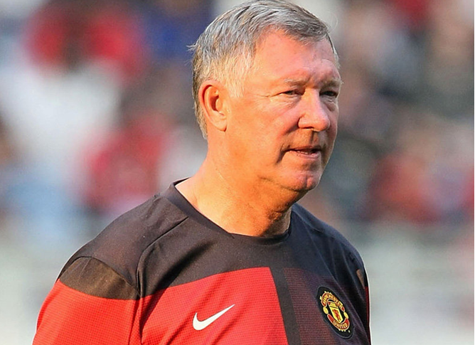 Ferguson retires where he should, perched at the top