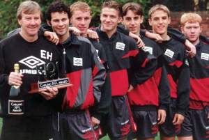 "Who is number one from Manchester United's ""Class of '92""?"