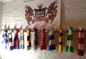 Competition: Win a Savile-Rogue scarf in your club colours!