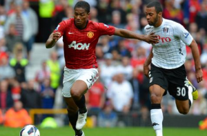 Is Antonio Valencia a Man Utd number 7?