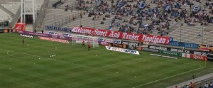 Marseille's fans led a Smiths' tribute to the then newly-signed Barton before the 3-1 victory over Rennes on 3 September