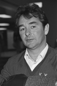 Brian Clough during his eventful Leeds United management reign.