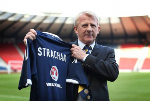 Strachan names strong squad for Poland clash with Euros in mind