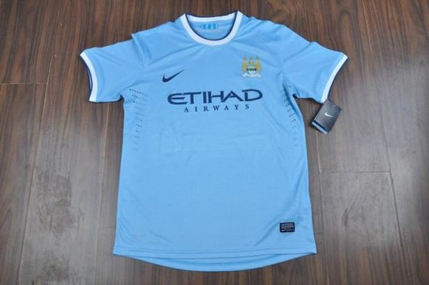 Manchester City's new home kit-1712901