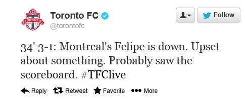 Toronto FC tweet