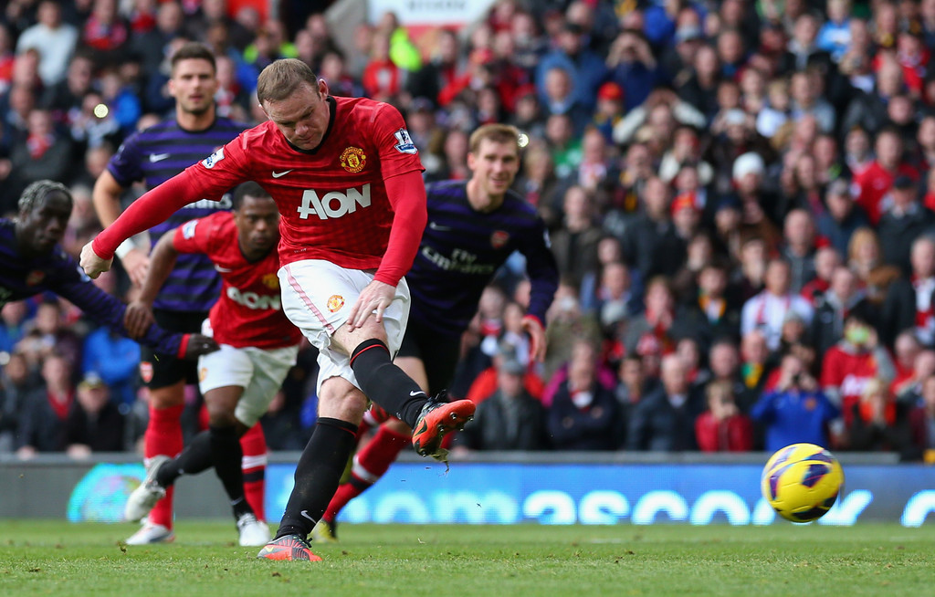 Wayne Rooney – both a controversial and an exciting player