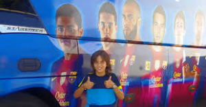Ten year-old Dubliner recruited by Barcelona