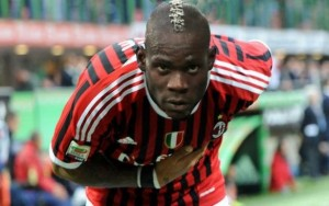Pic: Fans invade pitch, get selfie with Balotelli