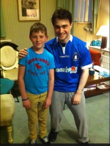Wing Wizard: Here's Harry Potter in a Limerick FC shirt