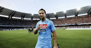 Video: Crowd reaction to Higuain's first Napoli goal.