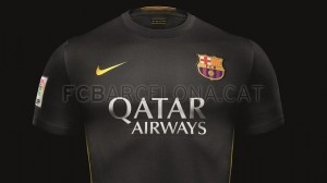"Barcelona release ""all black"" third kit"