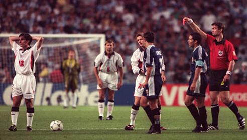 England Argentina Beckham