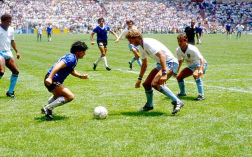 Maradona England